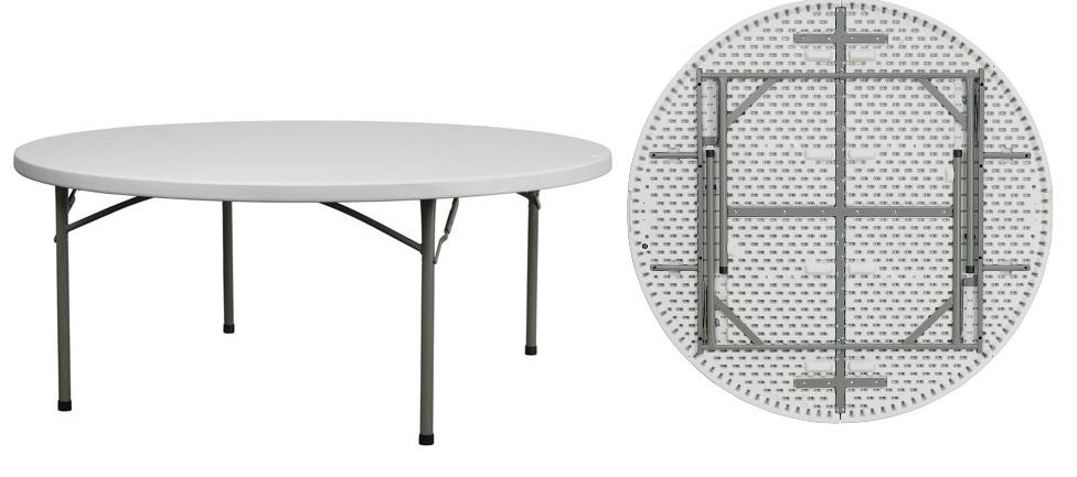Attrayant Plastic Round Folding Table   Plastic Round Folding Table   CTGO EVENT  SUPPLY